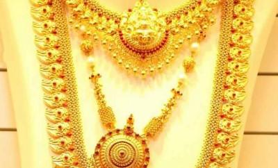 joyalukkas gold designs mango haram and necklace