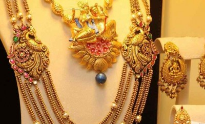 Chandra haram and necklace designs in joyaluakkas