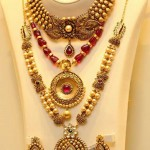 Pearl Gold Jewellery Designs with Price