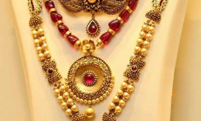 pearl gold jewelley designs with price longchain necklace