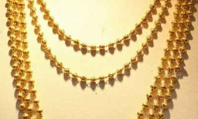 gold chandraharam jewellery