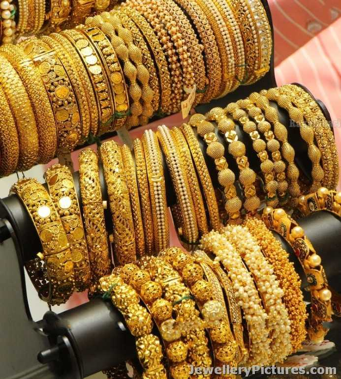 Gold Bangles Designs Catalogue - Jewellery Designs
