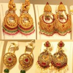 Gold Chandbali Designs Collection  from TBZ