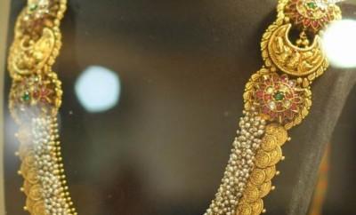 lakshmi kasu mala design in gold