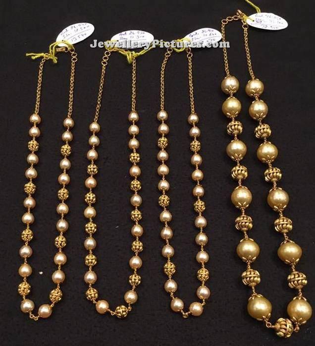 Pearl Jewellery Designs Catalogue Jewellery Designs