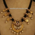 Black Thread Jewellery Indian Design