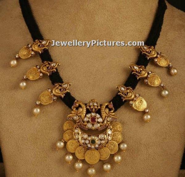 Black Thread Jewellery Indian Design Jewellery Designs