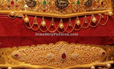 gold vaddanam minimum weight designs