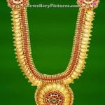 GRT Jewellers Kasu Malai / Kasulaperu Designs