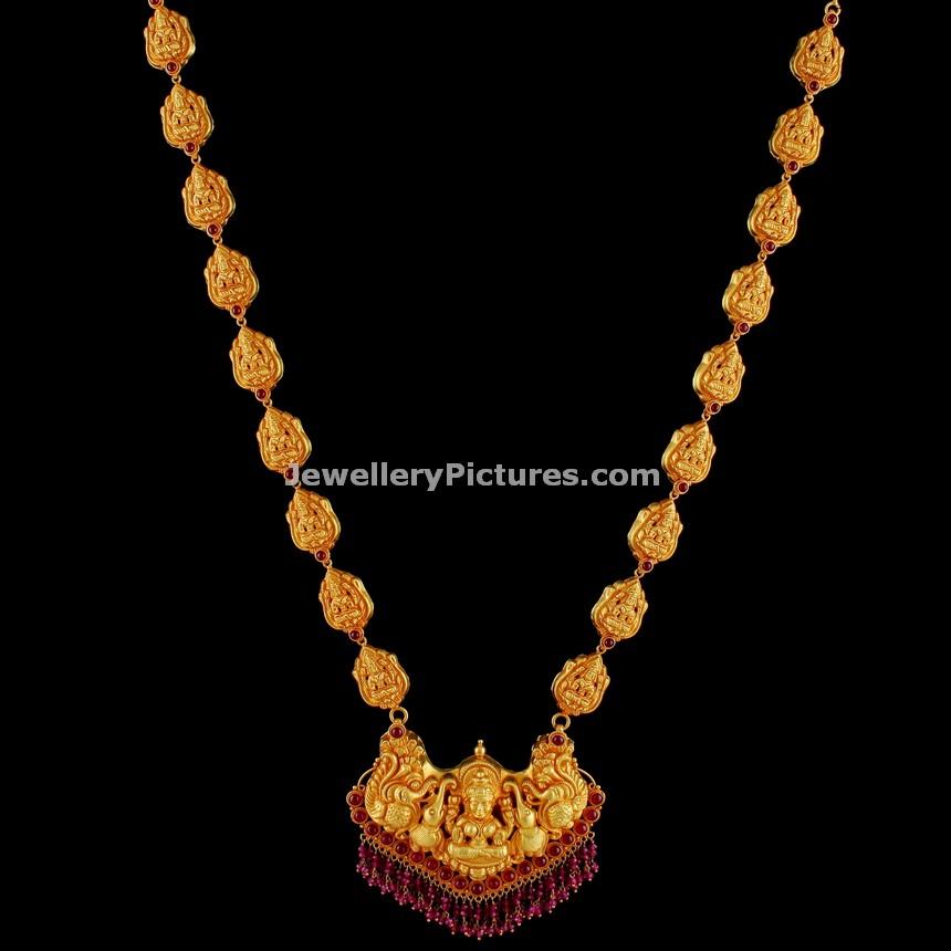 Latest Antique Gold Haram Top 12 Designs Jewellery Designs