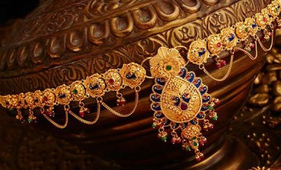 gold vaddanam chains
