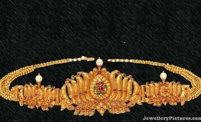 gold vaddanam designs for babies
