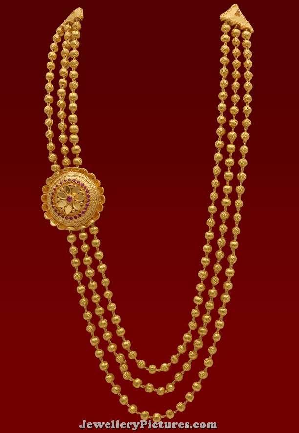 Gundla Haram Latest Indian Jewelry Jewellery Designs