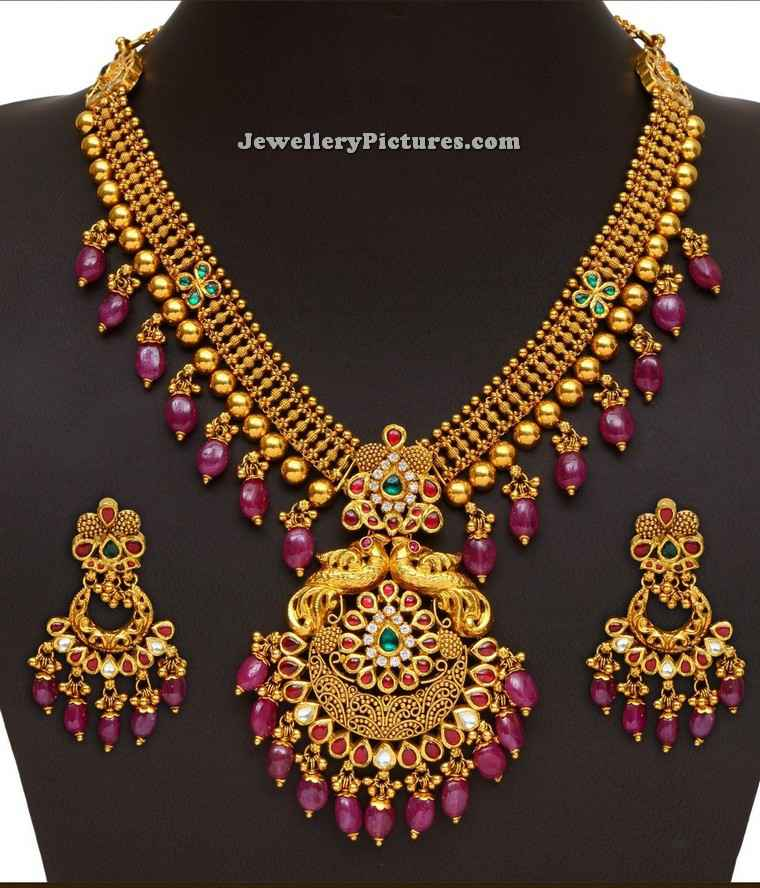 Gold Long Chain Latest Indian Jewelry - Jewellery Designs