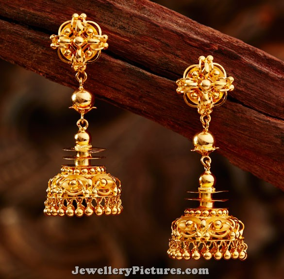 Jhumka Latest Indian Jewelry Jewellery Designs
