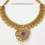 South Indian Necklace Designs Gold