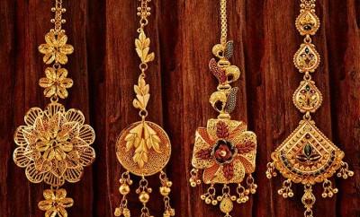 gold tikka designs