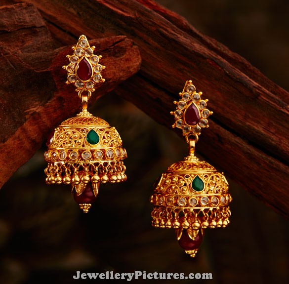 Khazana Jhumka Designs Catalogue Jewellery Designs