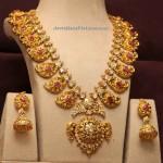 Mango Malai Gold Necklace Designs