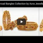 Azva Bangles Gold Collection