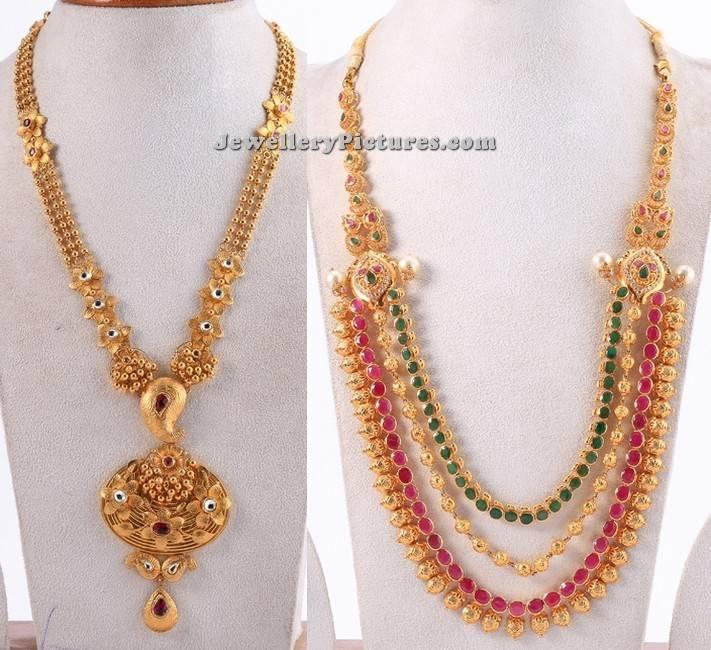 gold long haram designs