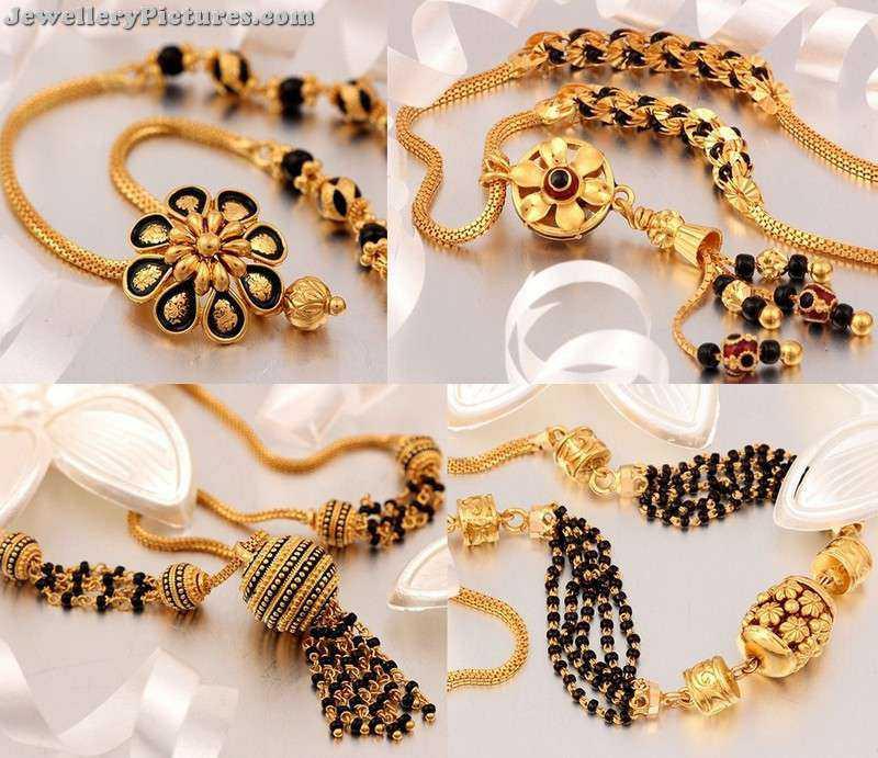 nallapusalu locket designs in gold