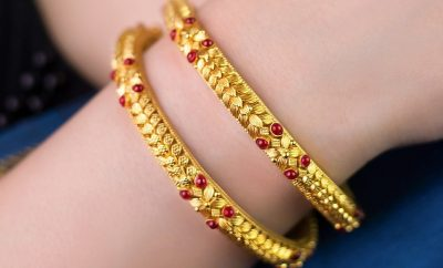 16 Grams Gold Bangles from Kalyan Jewellers